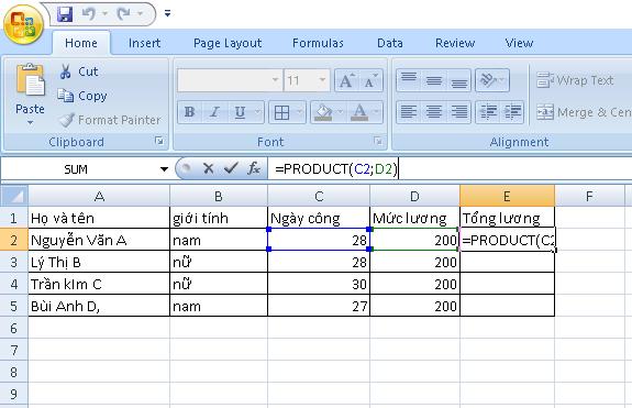 Hàm nhân trong Excel là gì? Cách sử dụng hàm nhân hiệu quả