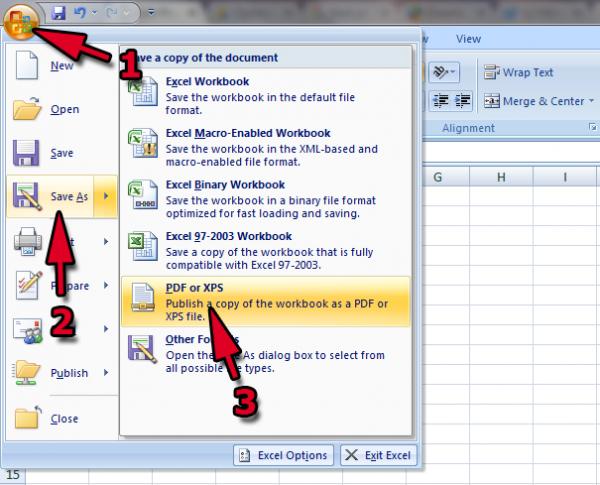 Tổng hợp các cách chuyển file Excel sang PDF đơn giản