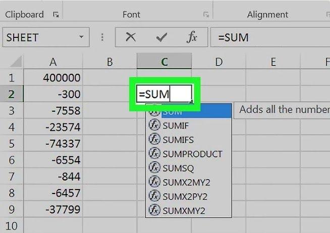Hàm đếm và tính tổng là một trong những hàm phổ biến trong Excel 2010